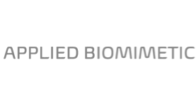 Applied Biomimetic logo grayscale