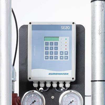 Control unit SE20 for water softener rental