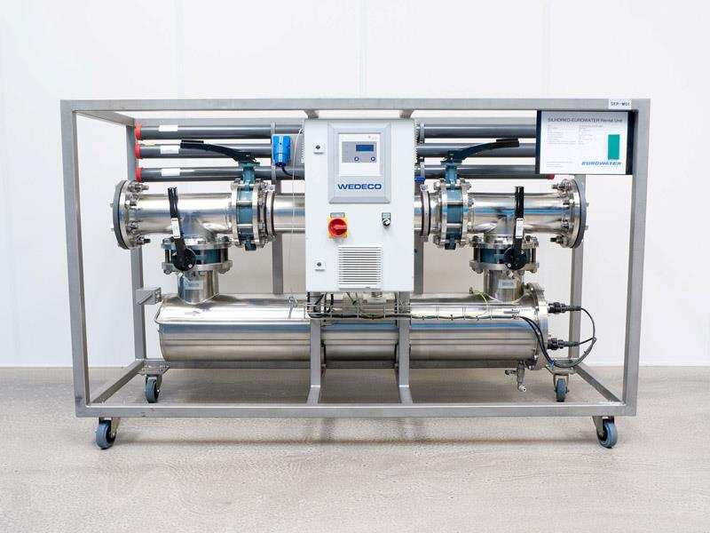 UV disinfection rental unit