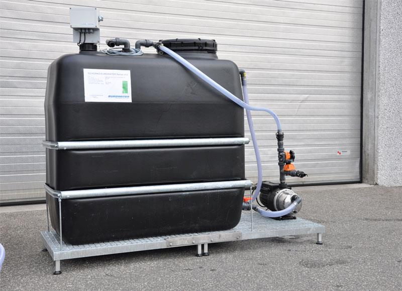 Water tank for rental RO unit