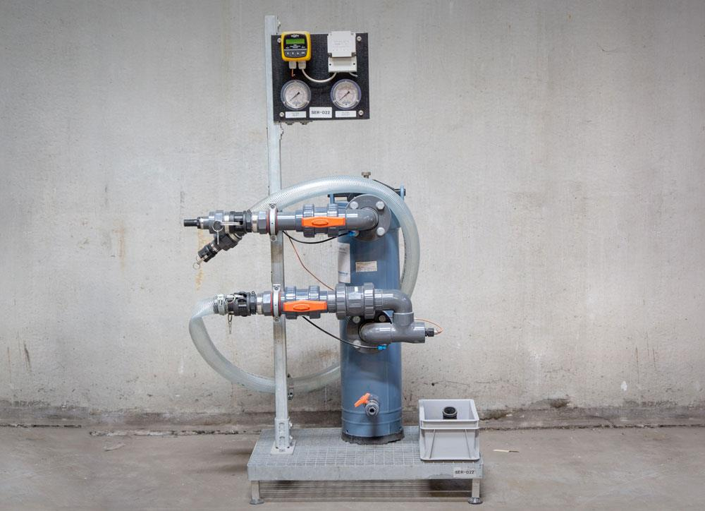 Rental of conductivity meter