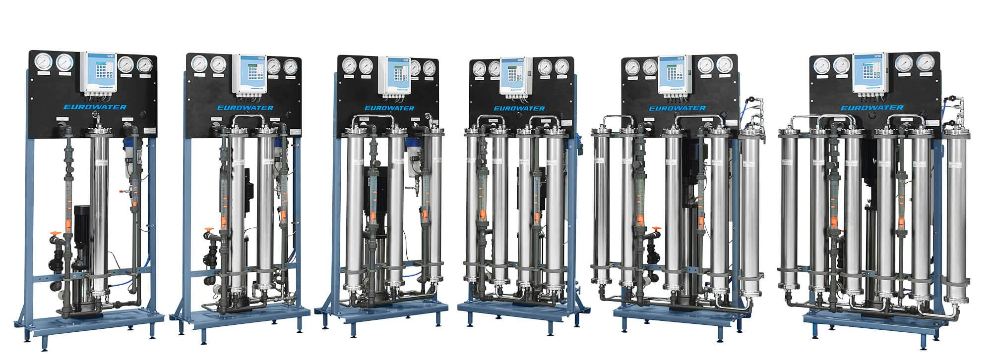 Reverse osmosis units from Eurowater serie B1
