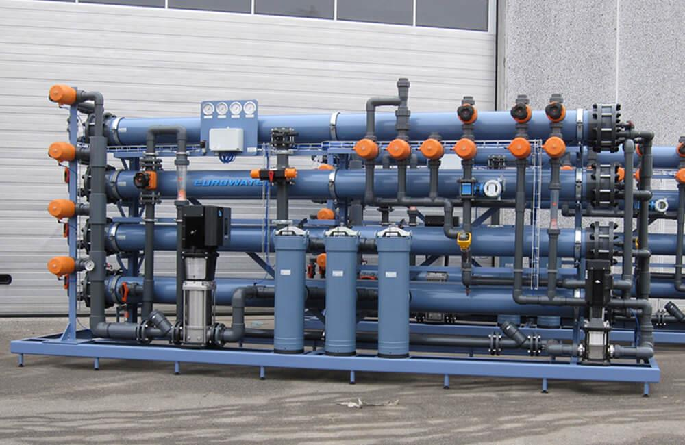 Nanofiltration unit from EUROWATER