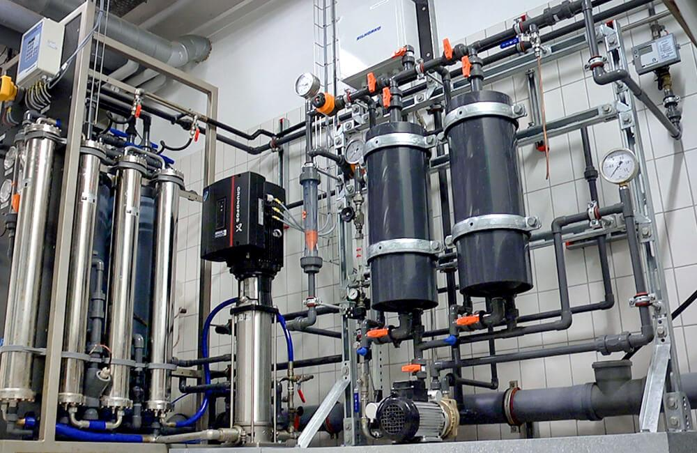 Membrane degassing units from Eurowater